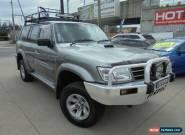 2003 Nissan Patrol GU III MY2003 ST-L Grey Manual 5sp M Wagon for Sale
