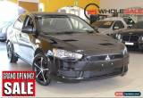 Classic 2012 Mitsubishi Lancer ES Black Manual M Sedan for Sale