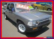 1993 Toyota Hilux RN85R Grey Automatic 4sp A Dual Cab Pick-up for Sale