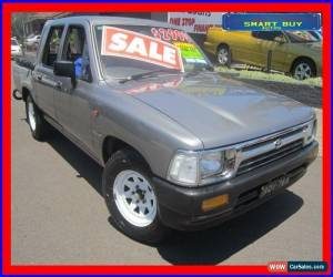 Classic 1993 Toyota Hilux RN85R Grey Automatic 4sp A Dual Cab Pick-up for Sale