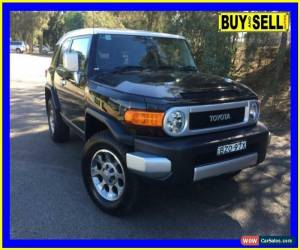 Classic 2011 Toyota FJ Cruiser GSJ15R Black Automatic 5sp A Wagon for Sale