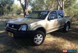 Classic 2003 Holden Rodeo RA LT Gold Manual 5sp M Crewcab for Sale