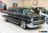 Classic 1957 Chevrolet Bel-Air Black Automatic A Hardtop for Sale