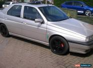 alfa 155 sport pack 1997 only 74k miles supersprint exhaust WHY px for Sale