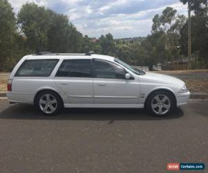 Classic 2002 Series 3 Ford Falcon Stationwagon White Dedicated Gas for Sale