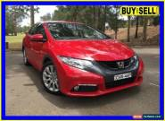 2012 Honda Civic FK VTi-L Red Automatic 5sp A Hatchback for Sale
