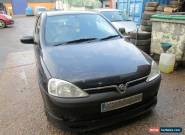 2003 VAUXHALL CORSA 1.2 SXI 16V PETROL RUNS DRIVES FOR SPARES OR REPAIR..  for Sale