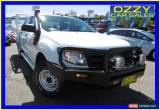 Classic 2012 Ford Ranger PX XL 3.2 (4x4) White Manual 6sp M Super Cab Chassis for Sale
