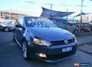 2012 Volkswagen Polo 6R MY12 66 TDI Comfortline Grey Automatic 7sp A Hatchback for Sale