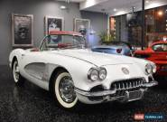 1959 Chevrolet Corvette C1 Convertible for Sale