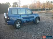 Mitsubishi shogun/pajero LWB 3.2 tdI Auto 4x4 7Seater LHD IDEAL FOR EXPORT   for Sale