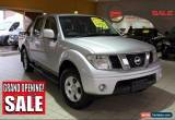 Classic 2010 Nissan Navara ST D40 Automatic A Utility for Sale