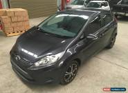 2009 Ford Fiesta automatic 65km 5dr hatch front damage repairable drives  for Sale