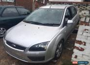 2007 FORD FOCUS ZETEC CLIMATE TDCI SILVER FOR SPARES for Sale