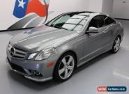 2010 Mercedes-Benz E-Class Base Coupe 2-Door for Sale