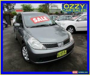 Classic 2006 Nissan Tiida C11 ST Grey Automatic 4sp A Hatchback for Sale