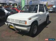 1990 Suzuki Vitara JX (4x4) White Automatic 3sp A Softtop for Sale