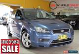 Classic 2007 Ford Focus ZETEC LS Blue Manual M Hatchback for Sale