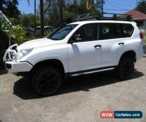 Classic 2010 Toyota Landcruiser Prado KDJ150R GXL (4x4) White Manual 6sp M Wagon for Sale