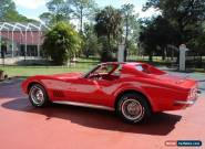 1972 Chevrolet Corvette 2 Door Coupe with T-Top for Sale