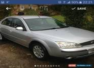 2001 FORD MONDEO 2.0  ZETEC SILVER, 3 Owner car. for Sale
