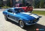 Classic 1967 Ford Mustang GT 500  for Sale
