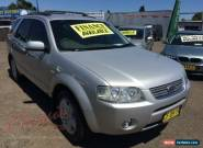 2007 Ford Territory SY Ghia (4x4) Silver Automatic 6sp A Wagon for Sale