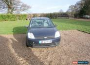 2003 FORD FIESTA LX SEMI-AUTO BLUE spares or repair for Sale
