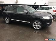 2008 VOLKSWAGEN TOUAREG ALT TDI V6 225 A BLACK for Sale