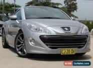 2012 Peugeot RCZ 1.6T Silver Automatic 6sp A Coupe for Sale