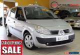 Classic 2005 Renault Scenic Phase II J84 Expression Silver Manual 6sp M Hatchback for Sale
