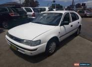 1996 Toyota Corolla AE101R CSi Seca White Automatic 4sp A Liftback for Sale
