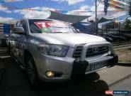 2008 Toyota Kluger GSU40R KX-S (FWD) Silver Automatic 5sp A Wagon for Sale