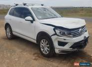 2015 VOLKSWAGEN TOUAREG V6 TDI 7P AUTO 3.0L TURBO DIESEL 31K REPAIRABLE DRIVES for Sale