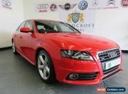AUDI A4 2.0 TDI QUATTRO S LINE 2009 Diesel Manual in Red for Sale