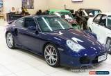 Classic 2001 Porsche 911 996 Turbo (4WD) Midnight Blue Automatic 5sp A Coupe for Sale