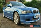 Classic Bmw 330CI CLUBSPORT e46 estoril blue manual 5 speed for Sale