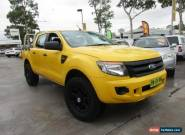 2012 Ford Ranger PX XL Hi-Rider Yellow Automatic A 4D UTILITY for Sale