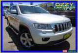 Classic 2012 Jeep Grand Cherokee WK Overland (4x4) Silver Automatic 5sp A Wagon for Sale