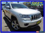 2012 Jeep Grand Cherokee WK Overland (4x4) Silver Automatic 5sp A Wagon for Sale
