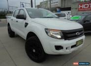 2012 Ford Ranger PX XL Hi-Rider White Automatic A 4D Utility for Sale