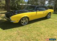 1968 Chev Camaro Full chassis off nut & bolt rebuild for Sale