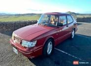 1988 SAAB 900 AERO CLASSIC 16S TURBO / CHERRY RED for Sale