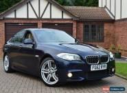 2012 BMW 5 Series 3.0 535d M Sport 4dr for Sale