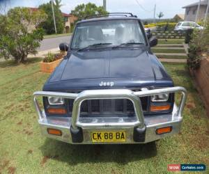 Classic JEEP XJ 1997 CHEROKEE 4 x 4 .5 Speed Manual . 2.5 Litre Diesel . Just Registered for Sale