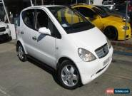 1998 Mercedes-Benz A160 W168 Avantgarde White Automatic 5sp A Hatchback for Sale