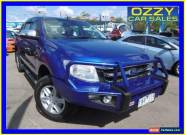 2011 Ford Ranger PX XLT 3.2 (4x4) Blue Automatic 6sp Automatic Dual Cab Utility for Sale