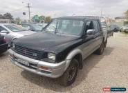 1999 Mitsubishi Triton MK GLS (4x4) Automatic 4sp A Dual Cab Utility for Sale