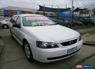 2003 Ford Falcon BA XT (LPG) White Automatic 4sp A Wagon for Sale