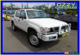 Classic 2003 Toyota Hilux LN167R (4x4) White Manual 5sp Manual 4x4 Dual Cab Pick-up for Sale